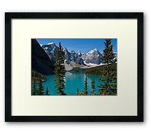 Banff National Park, Moraine Lake Framed Print