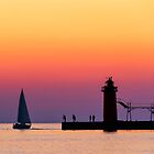 South Haven Twilight by Kenneth Keifer