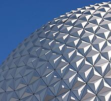 Spaceship Earth, Epcot, Disney Florida by Jeff Lowe
