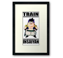 Gotenks Train Insaiyan Framed Print