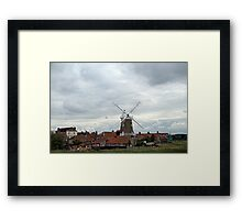 Cley, North Norfolk Coast. UK Framed Print