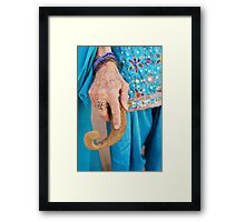 """The Oracle""""s Hand Framed Print"""