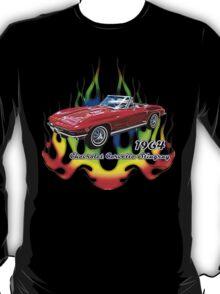 '64 Corvette Stingray by ©Fractal Tees T-Shirt