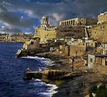 Bell Tower Valletta Malta by Edwin  Catania