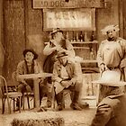 Happy Hour in the Old West by Barbara  Brown