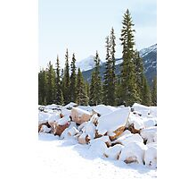 Autumn in The Rockies Photographic Print