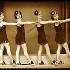 Chorus line in the 1920'es - flappers by © Kira Bodensted