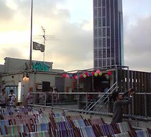 rooftop cinema, capturing the view by Tatterhood