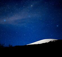 Moonlit Mauna Kea Summit by Rex Maximilian