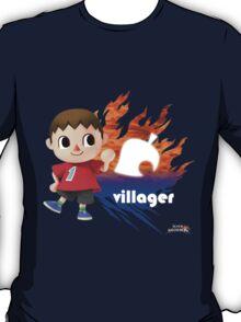 Super Smash Bros - Villager (Male) T-Shirt