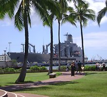 The Pearl Harbor Memorial by Amateur19