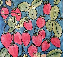 Strawberries by Alexandra Felgate
