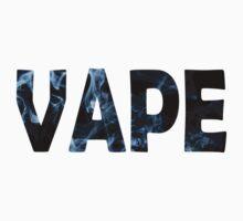 Vape/Vaping Text Merchandise by JackDee55