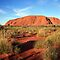 Ayers Rock (Uluru), Late Afternoon, Australia by Michael Boniwell