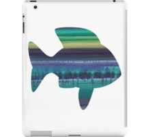 Stop Listening to the Static - Abstract Fish iPad Case/Skin