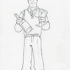 ∏HIS Character Profile_ Nigel Lushmoore_Biro by johnny jenkins