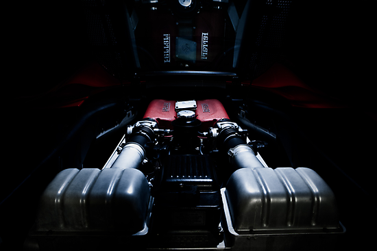 Ferrari 360F1 Spider Engine Bay by Dave Reid