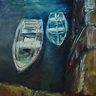 Harbour Boats #1 by Fee Dickson