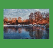 Cold Ice, Warm Light – Lake Ontario Impressions Kids Clothes
