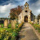 Little Longstone Church in the Peak District by Martin White