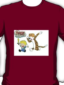 AT with Calvin and Hobbes T-Shirt