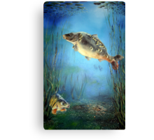 """Kingdom of the Carp"" Canvas Print"