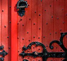 Roman Door by Jill Sprague