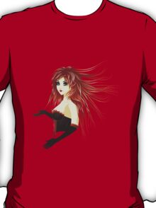 Girl in corset T-Shirt
