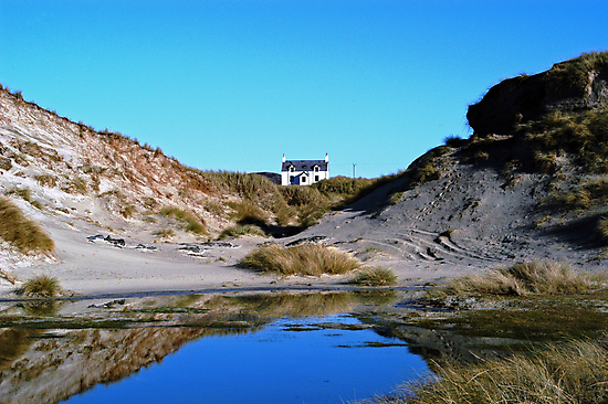 House at Sanna Bay Ardnamurchan by Louis Costello