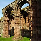 HOLY ISLAND, Lindisfarne Abbey by tonymm6491