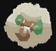 Ben's Whimsicott (No outline) by eevilmurray