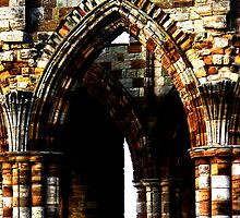 Whitby Abbey x4 by JoCr