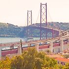 the bridge. Ponte sobre o Tejo by terezadelpilar~ art & architecture