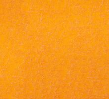 Yellow orange material texture abstract by Arletta Cwalina
