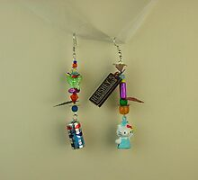 hokey Pokey earrings by RokCandi