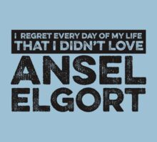 Regret Every Day - Ansel Elgort by huckblade
