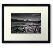 Cowra Cup Race Day Framed Print