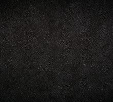 Dark black leather sheet texture by Arletta Cwalina