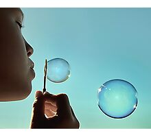 I dream of bubble Photographic Print