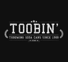 Toobin' - Retro White Dirty by garudoh