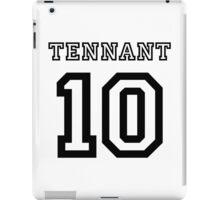 Tennant 10 Jersey iPad Case/Skin