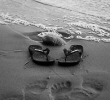 Havaianas in the Ocean Tide by Charlotte Pridding