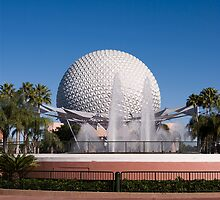 Spaceship Earth, Epcot, Disney Orlando by Jeff Lowe