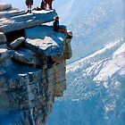 Risk Taker Half Dome by John Mckinney