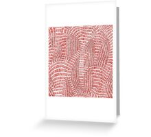Seamless hand drawn abstract vector pattern Greeting Card