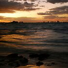 Cancun Sunset by John Mckinney
