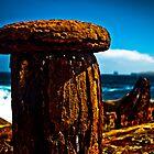 Rusted Bollard by Plonko