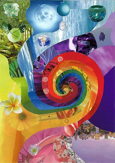 Colour wheel collage by HeidiArts