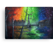 Back In The Bayou By Sherry Arthur Canvas Print