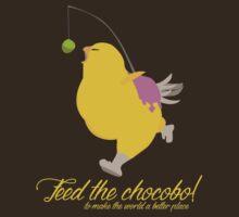 Feed the chocobo! by Daniel Espinola